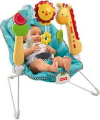 Шезлонг Fisher-Price 2-in-1 Sensory Stages Bouncer
